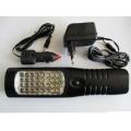 Подвижна лампа -безжична със заряднио за кола 12v и 220v